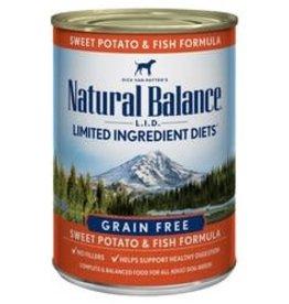 Natural Balance Natural Balance L.I.D. Grain Free Sweet Potato & Fish Canned Dog Food 13oz