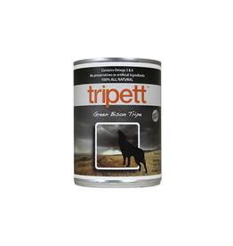 Trippet Petkind Tripett Green Bison Tripe Wet Dog Food13.2oz