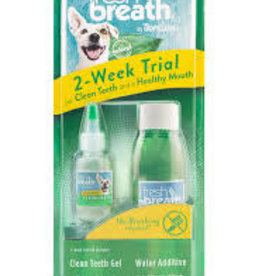 Tropiclean Fresh Breath Dental Trial Kit