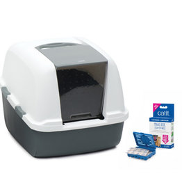 Catit Catit Magic Blue Litter Box - Jumbo