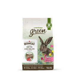 Living World Green Botanicals Juvenile Rabbit Food - 1.36 kg (3 lbs)