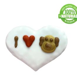 Bosco and Roxy's Cookie - Bosco and Roxy's I Love My Dog Heart 1pc.