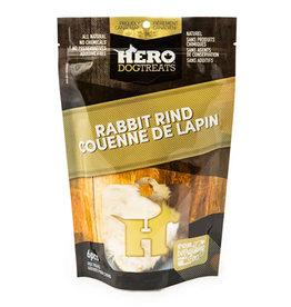 hero Hero Dehydrated Rabbit Rind - 6pcs
