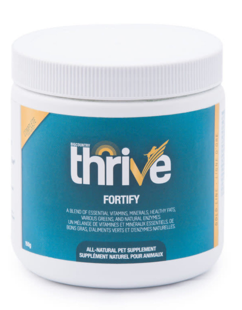 Thrive Big Country Raw Thrive Gold Line Fortify - 150g