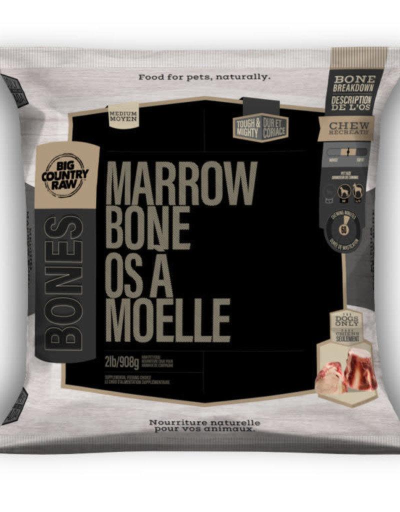 Big Country Raw Big Country Raw Beef Marrow Bone Medium 2lb