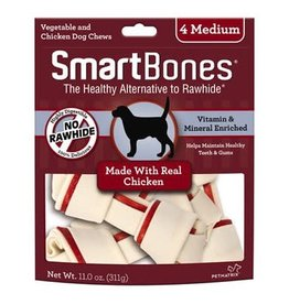 Smart Bones Smart Bones Chicken - Medium 4 Pack