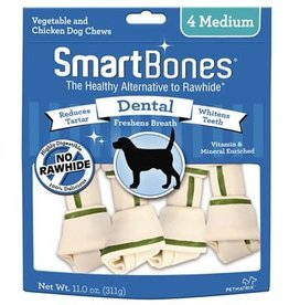 Smart Bones Smart Bones Dental - Medium 4 Pack