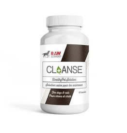 Raw Support Raw Support Cl+anse Natural Supplement 30 Capsules