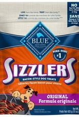Blue Buffalo Blue Sizzlers Bacon-Style Pork Treats Original Value 15oz
