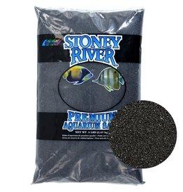 estes Stoney River Premium Aquarium Sand - Black - 25 lb