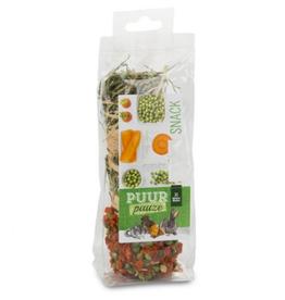 Puur Puur Hay Stick Carrot/Peas - 1 Stick