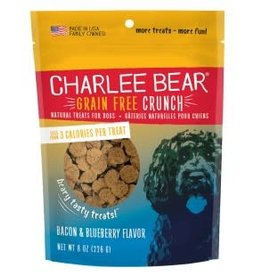 Bear Crunch Charlee Bear Bear Dog Treats  Crunch Bacon & Blueberry 8oz