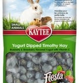 Kaytee Kaytee Fiesta Blueberry and Strawberry Yogurt Dipped Timothy Hay 2.5oz
