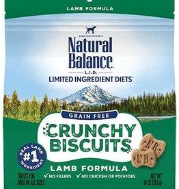 Natural Balance Natural Balance Limited Ingredient Crunchy Biscuit Lamb 10oz