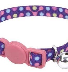 Lil Pals Lil Pals Adjustable Breakaway Kitten Collar - Purple Gear