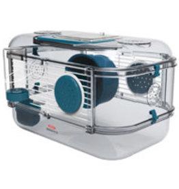 Zolux Zolux Rody3 Mini Hamster Cage - 1 Story - Blue