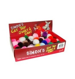 "Simons Acrylic 1"" Pom 1pc."