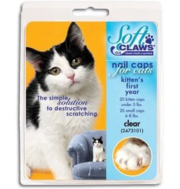 Softclaws Soft Claws Cat Clear - Medium