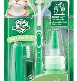Tropiclean Tropiclean Fresh Breath Oral Care Kit for Cats 2oz