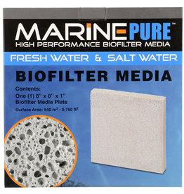 "MarinePure MarinePure Biofilter Media Plate - 8"" x 8"" x 1"""