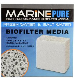 "MarinePure MarinePure Biofilter Media Block - 8"" x 8"" x 4"""