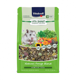 VitaKraft Vitakraft Vitasmart Complete Nutrition Natural  Forage Blend Hamster Food 2lb