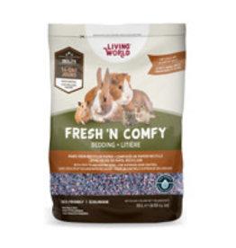 Living World Fresh 'N Comfy Small Animal Bedding 10L - Confetti