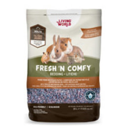 Living World Fresh 'N Comfy Small Animal Bedding 20L - Confetti