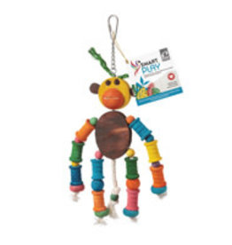 hari Hari Smart Play Enrichment Parrot Toy - Monkey King
