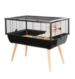 Zolux Zolux Neo Nigha Small Pet Cage - Black with Black Wire