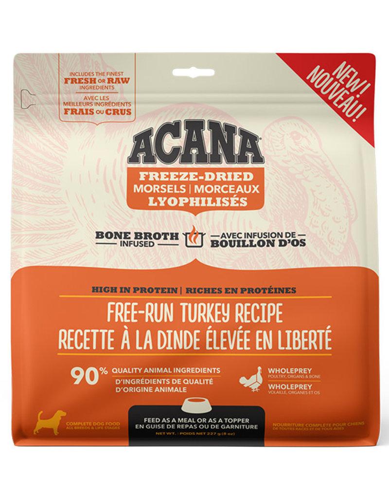 Acana Acana Freeze-Dried Morsels - Free-Run Turkey Recipe 227g