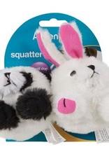 Aspen Pet Products Aspen Pet Squatter Panda & Rabbit Toy - Small Dog