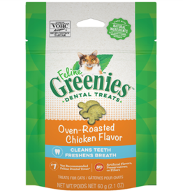 Greenies Greenies Feline Dental Oven Roasted Chicken 2.1oz
