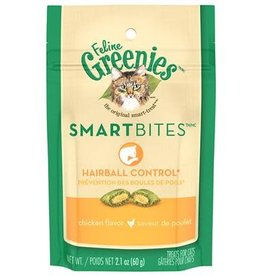 Greenies Greenies Smartbites Hairball Chicken 2.1oz