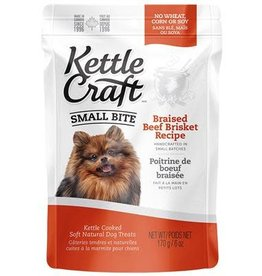 Kettle Craft Braised Beef Brisket - Small Bite Dog Treat 170g