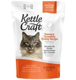 Kettle Craft Savoury Canadian Turkey - Cat Treat 85g