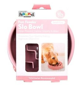 Outward Hound Outward Hound Fun Feeder Wave Pink - Small