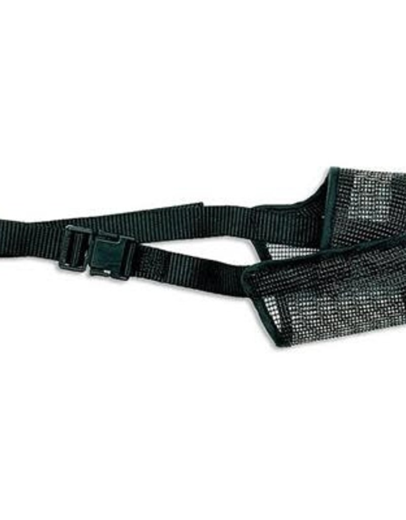 Best Fit Adjustable Mesh Muzzle Black Size 6