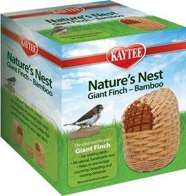Kaytee Kaytee Natures Nest Bamboo Giant Finch