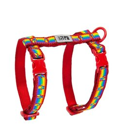 RC Pets RC Pets Kitty Harness M Rainbow Paws
