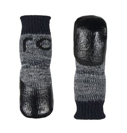 RC Pets RC Pets Sport PAWks Dog Socks L Charcoal Heather