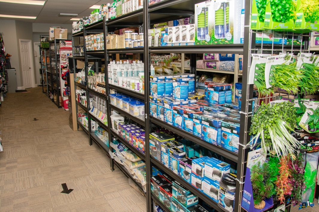 Fish Filter Supplies/Herbal Section