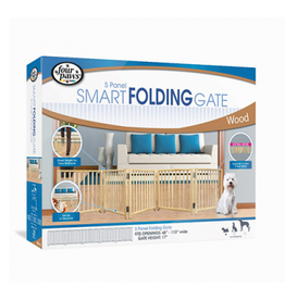 Four Paws 5-Panel Folding Gate