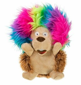 GoDog GoDog Silent Squeak Crazy Hairs Hedgehog - Small