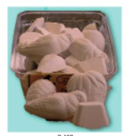 riga Riga Mineral Block White - Vanilla