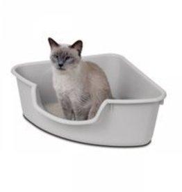 smart cat Smart Cat Corner Litter Box - Grey