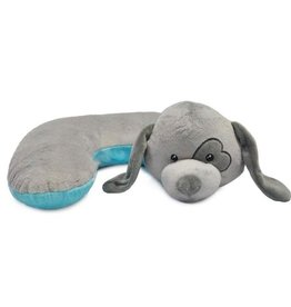 The Dog Pillow Company The Dog Pillow Company Hugg-Grey Dog Pillow with Heart