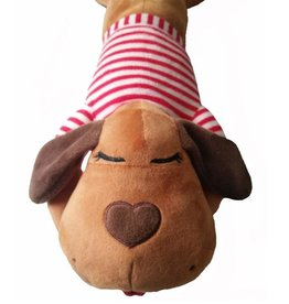 The Dog Pillow Company The Dog Pillow Company Buddy-Long Body Pillow - Red Stripe Shirt