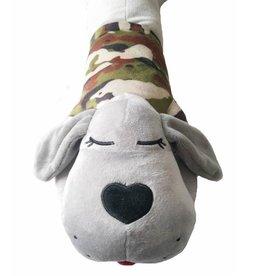 The Dog Pillow Company The Dog Pillow Company Sarge-Long Body Pillow - Camouflage Shirt