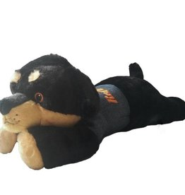 The Dog Pillow Company The Dog Pillow Company Piper the Rottie Long Body Pillow with Ruff-Life Shirt